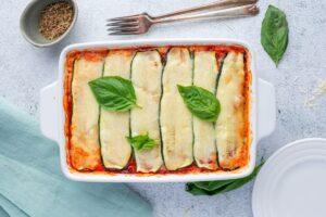 Keto Vegetarian Lasagna